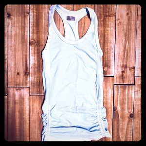 Athleta Fast Track Racerback Tank Ruched Size: M